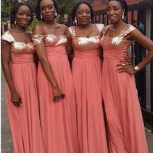 Promoción Vestidos De Dama De Honor De Coral Compras Online