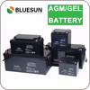 Bluesun rechargeable deep cycle lead acid 12v 100ah battery for solar system
