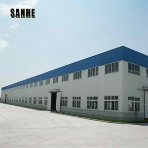 two story portal frame steel structure prefabricated warehouse