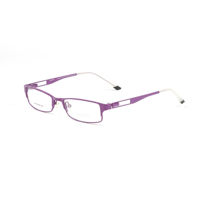 436b4b9a96 Get Quotations · Vanni Meccano Full Rim Eyeglass Frames 51mm Light Lilac