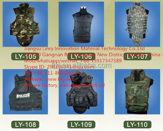 full body armor/police tactical vests/tactical gears ceramic plates safety vest kevlar bulletproof body armor