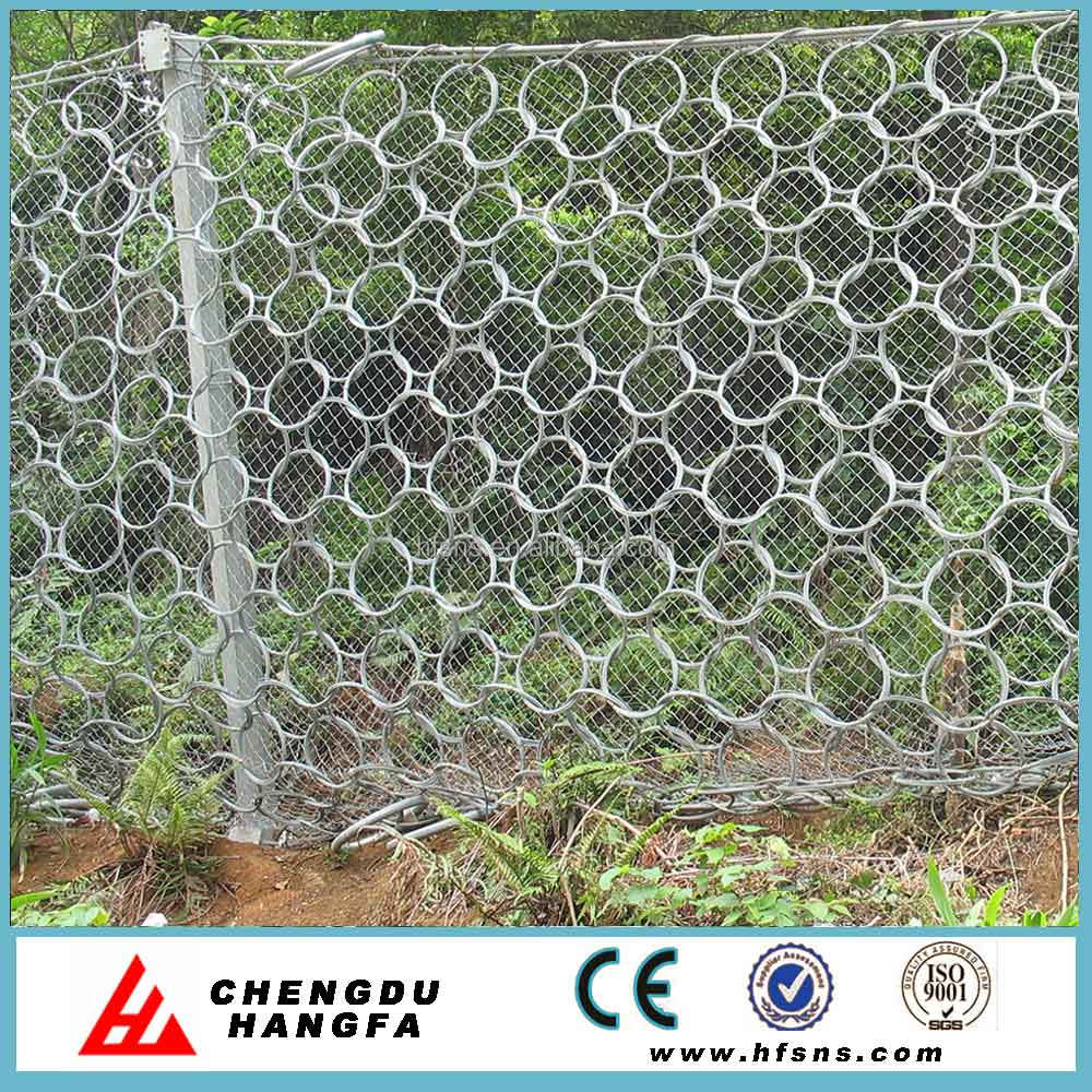 RXI- 025 ring net rockfall netting wire mesh for slope protection