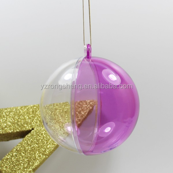 Clear Plastic Ball Ornaments BulkGiant Bubble BallClear