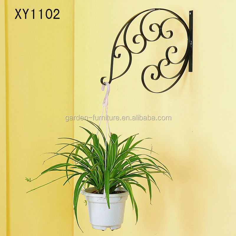 Colorful Floral Metal Hanging Wall Decor Embellishment - Wall Art ...