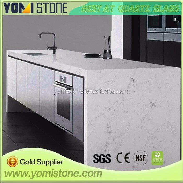 Standard Size For Modern House Decaration Artificial Quartz Vanity Tops