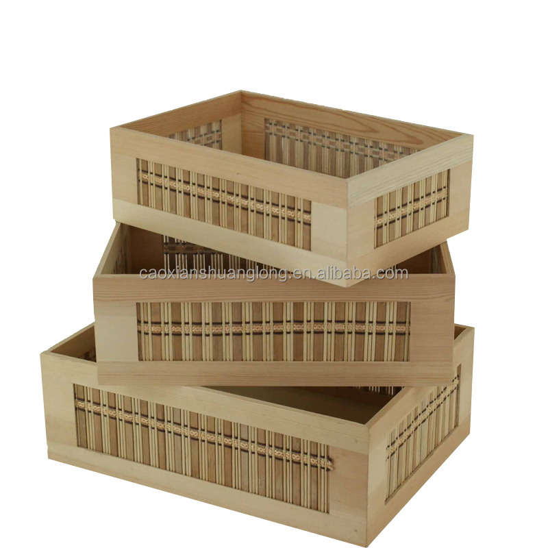Legno di pino grezzo casse di vino di legno a buon for Piani di casa a buon mercato in vendita