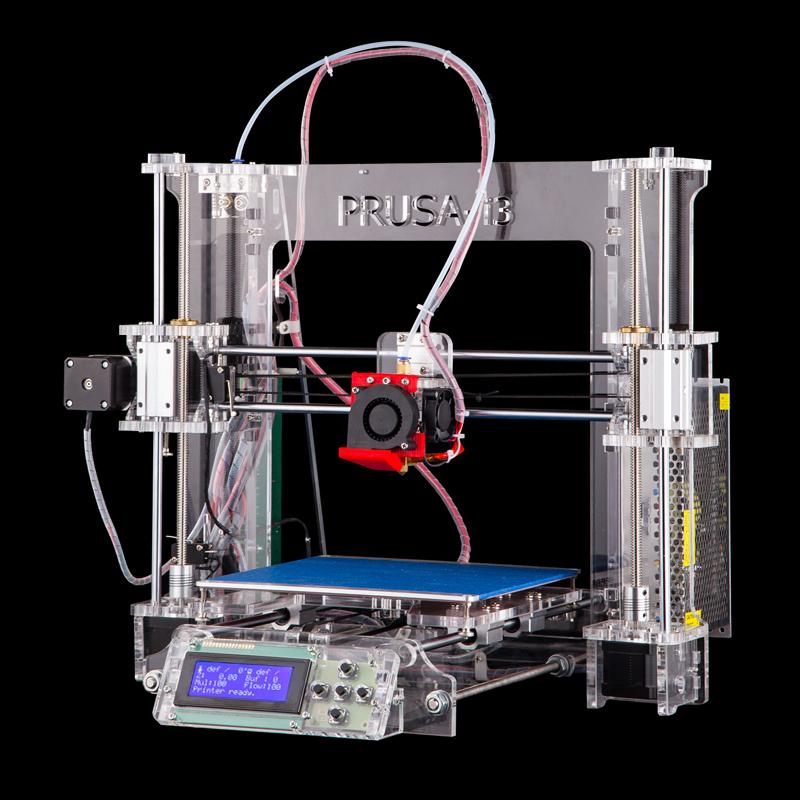 New Upgraded Reprap Prusa i3 3d printer P802Y OEM/ODM auto leveling support