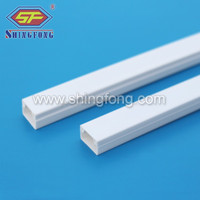 High Impact PVC slot for line/wiring duct 30x15/30x13