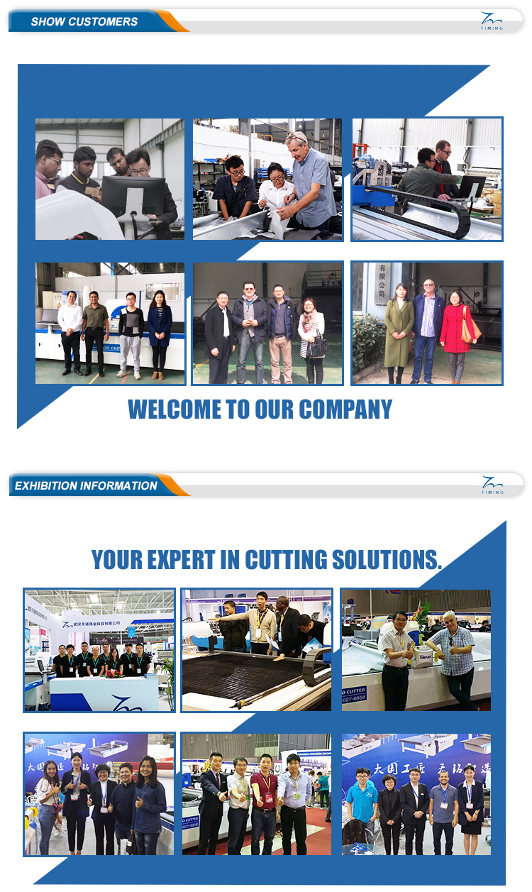 industrial digital knife cutter custom design automatic cloth fabric cutting machine