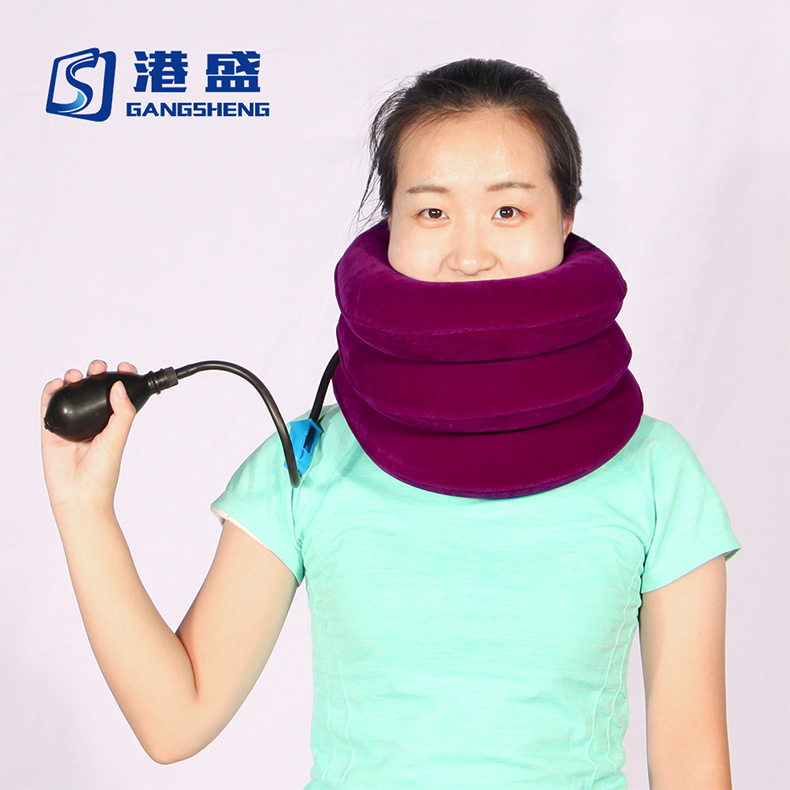 Adjustable Air Pump Inflatable Cervical Collar Neck Traction