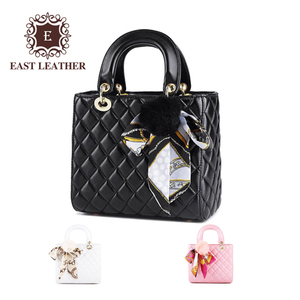 EC007 New Design Fashion 2018 Trendy Pu Leather Ladies Handbag wholesale
