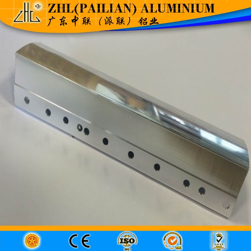 Chemical polishing aluminum profile 6063 t5 aluminum alloy profile ,online shopping india bike polish for construction companies