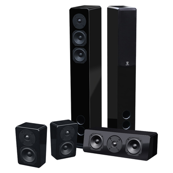 Professionale surround sound 5.1 wireless home theater system