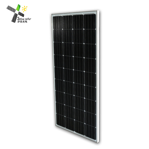 Factory direct sun power high efficiency with mono solar cell 125*125mm for sale