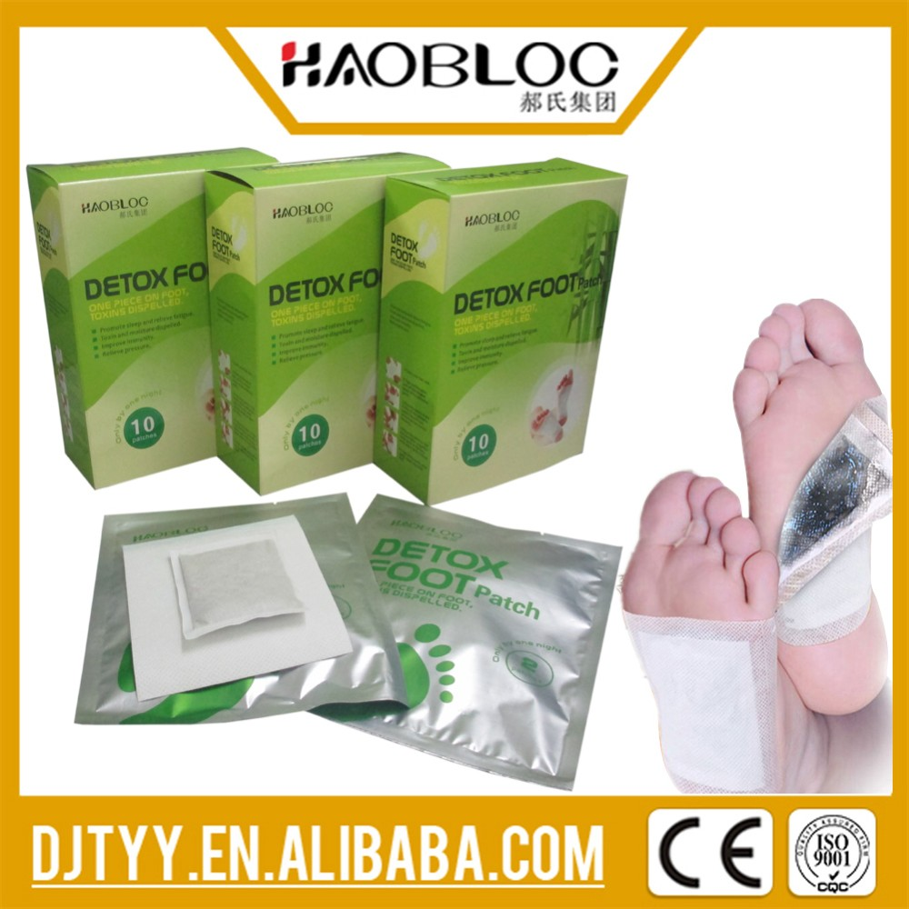 Top Level Most Popular Detox Foot Pad/Patch, Simple and Easy to Use, TCM Therapy
