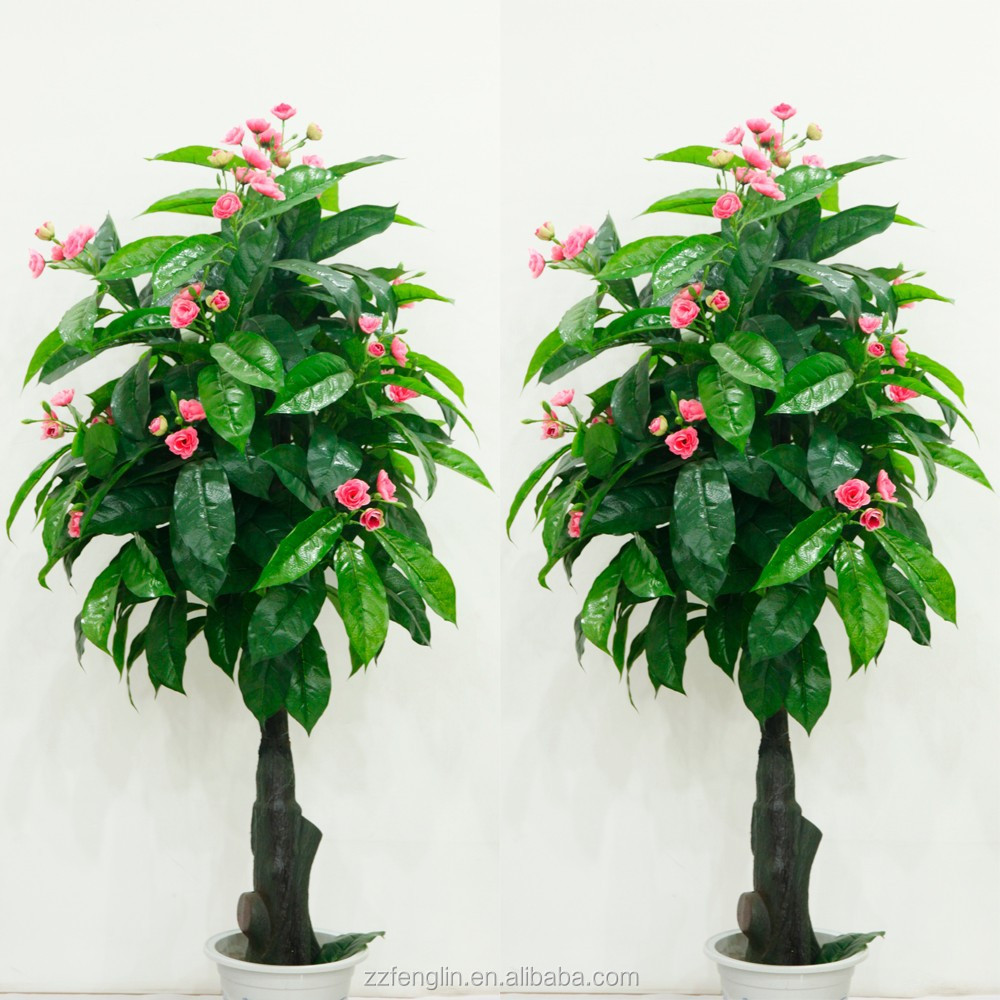 Cheap Plastic Tree Wholesale Artificial Flower Tree For Indoor