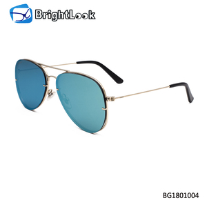 2018 new design metal trendy good quality man polarized sunglasses
