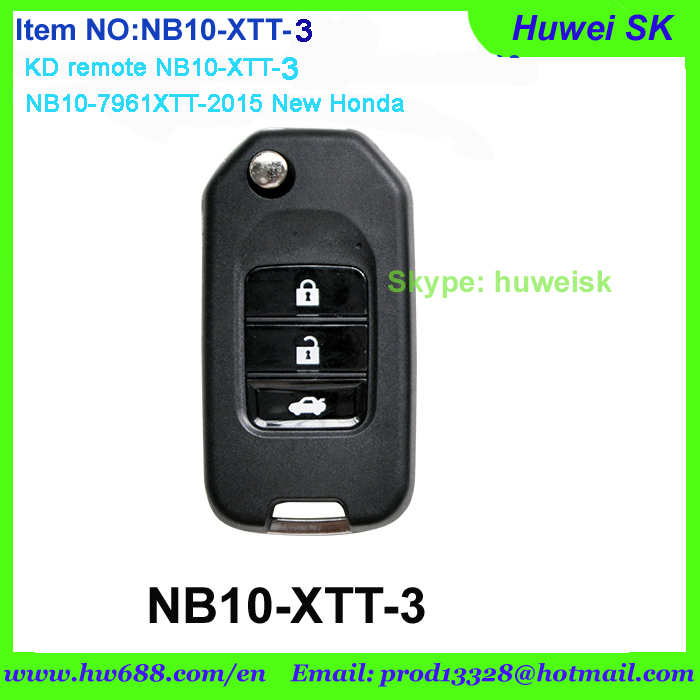 NB10-XTT-3 KD900 remote,KD B series remote, URG200 remote key, NB10-7961XTT-2015 New Hondaremote