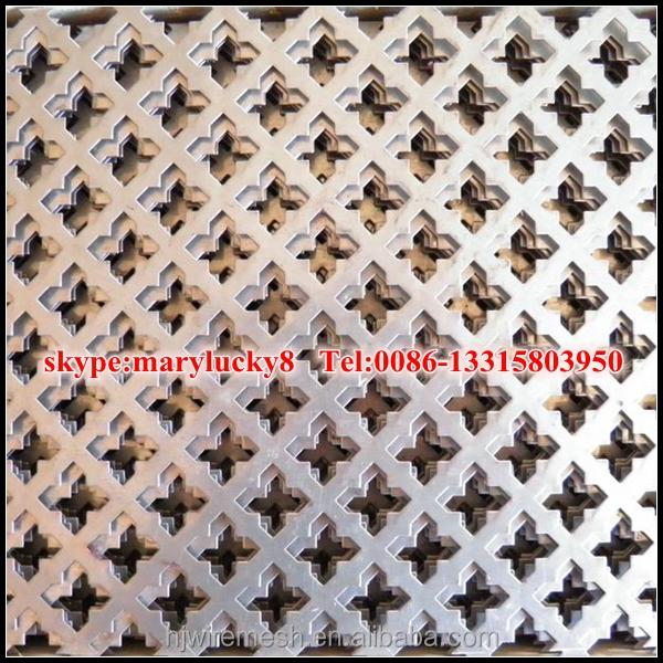 Decorative Metal Perforated Sheet Perforated Metal Sheet For