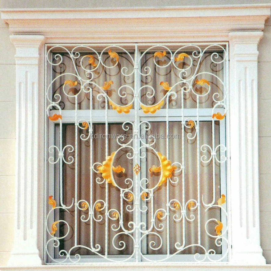 Ornamental wrought iron window grill design home buy for Window design pakistan