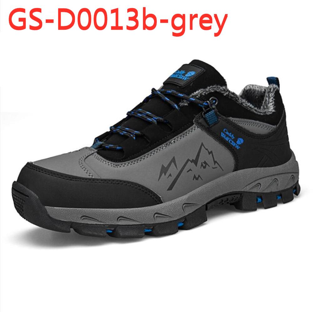 outdoor climbing cotton/velvet plus shoes keeping warm shoes GS-D0013