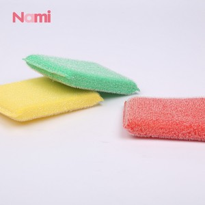 Customized Dish Cloth Plastic Scouring Pad Kitchen Sponge for Cleaning