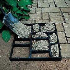 Moule Pour Beton outil bricolage - en plastique jardin moules À béton pour la dalle