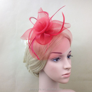 8829dbb81faae Pink Fascinators For Hair