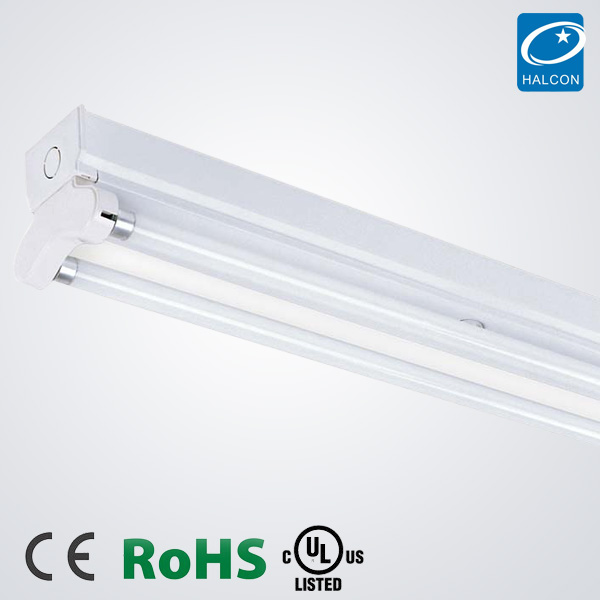 CE UL CUL ROHS T5 T8 LED tube batten lighting fixture Wall Lamp 2X36W Fluorescent Lighting Fixtures