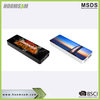 BSCI factory universal portable slim promotional gift 2500 mAh power bank