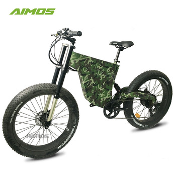 Fastest E Bike >> Ams Hm 2018 Aimos Latest Design Camouflage Color Electric Bicycle