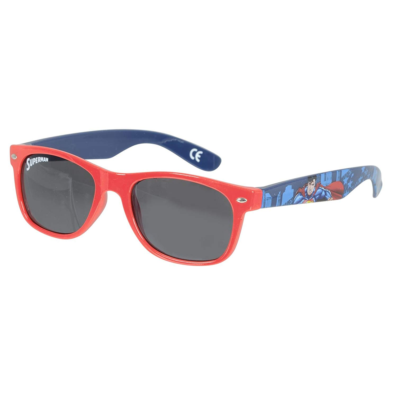 73ab2a61a5 Get Quotations · Superman Children s Red and Blue Plastic Sunglasses