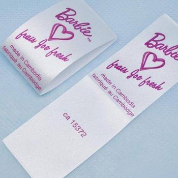 Verbazingwekkend Custom Logo Belangrijkste Merk Label Zachte Kleding Labels Maken WS-54