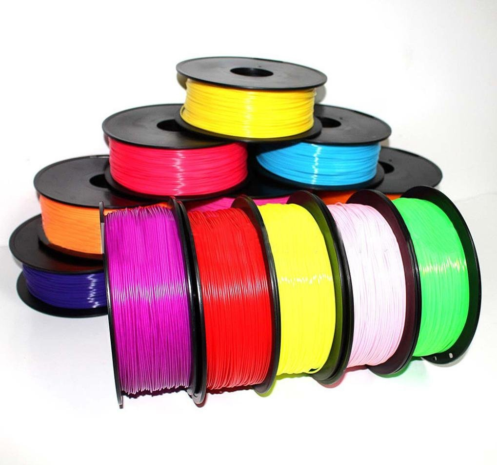 YRD TECH 10 × 1.75mm Print Filament ABS Modeling Stereoscopic For 3D Drawing Printer Pen (如图)