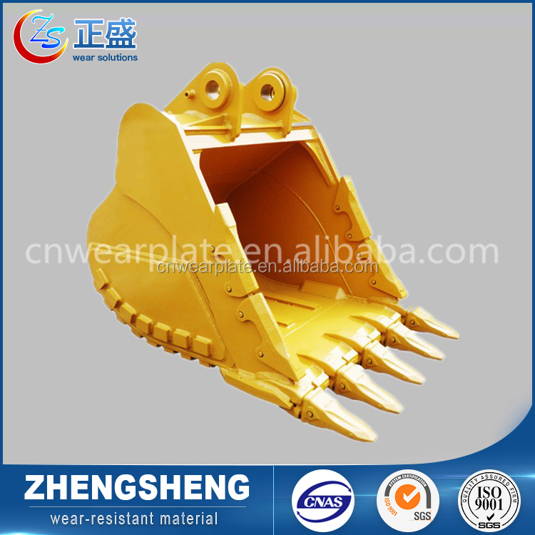 China wear resistance material mining machinery digger used mini excavator bucket for sale