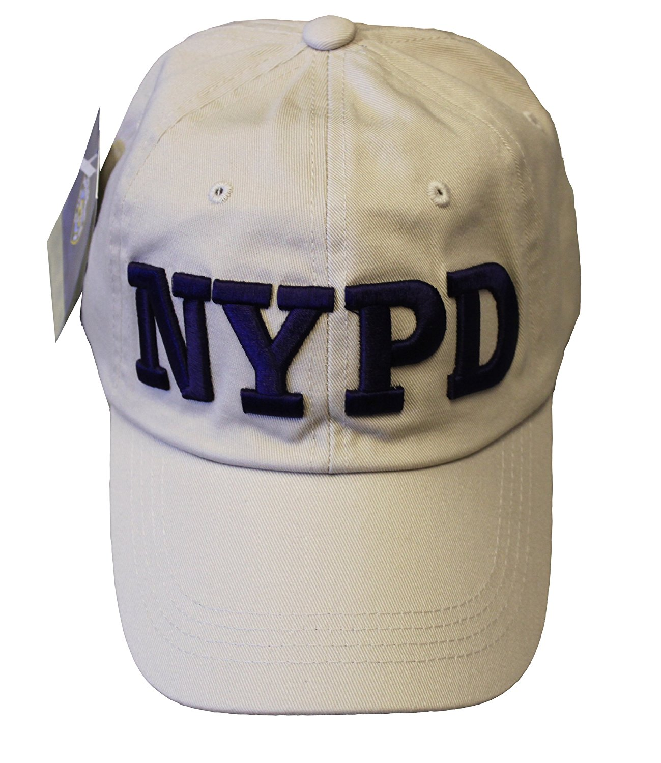 Get Quotations · NYPD Baseball Hat New York Police Department Khaki   Navy  One Size 21d24d7b84c2