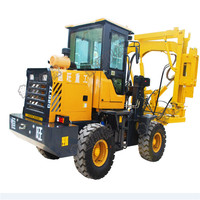 Solar Farm Piles Ramming Pile Machine Manufactures used pile driver
