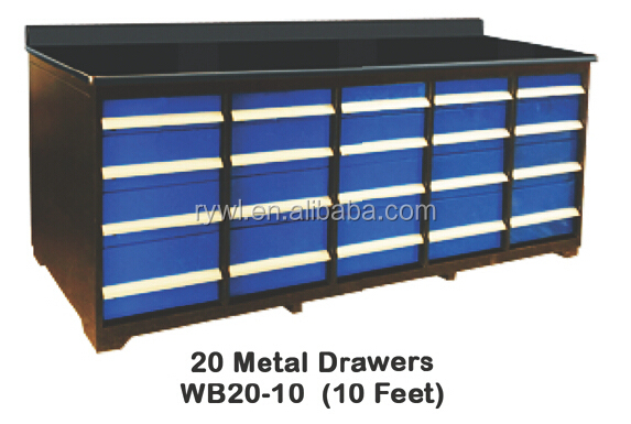 AG2A5520 20 METAL DRAWERS ...  sc 1 st  Alibaba & Mobile Steel Drawer Storage Tool Cabinet/low Price Hight Quality ...