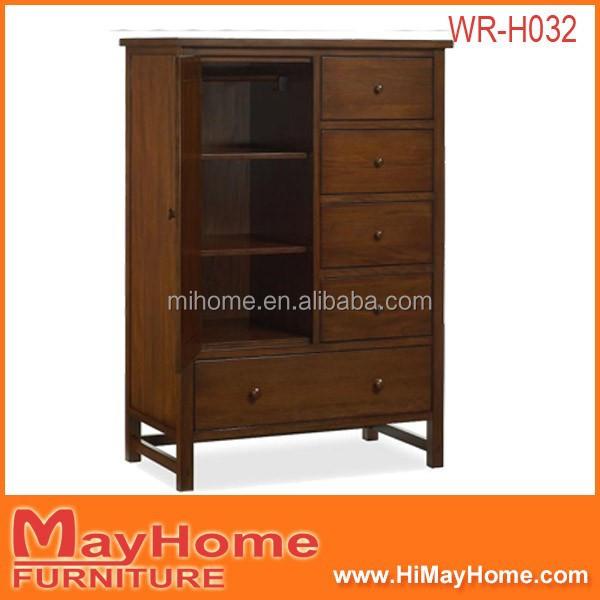 Chocolade 1 deur 5 laden modern design slaapkamer meubilair kast kasten product id 60243754479 - Chocolade nachtkastje ...