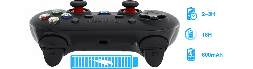 cheapest wholesale plastic gamesir game controller with ce, fcc,rosh certificate