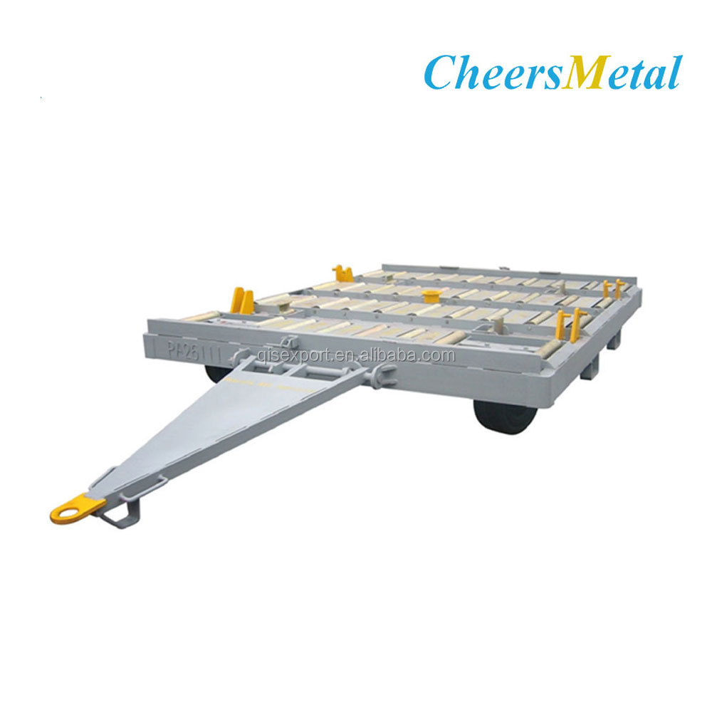 18T Airport Pallet Dolly Aviation Container transport dolly