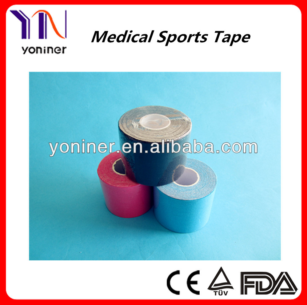 surgical sports and kinesiology tape