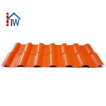 Roman Style Roofing Materials Plastic Asa Resin Roof Tile
