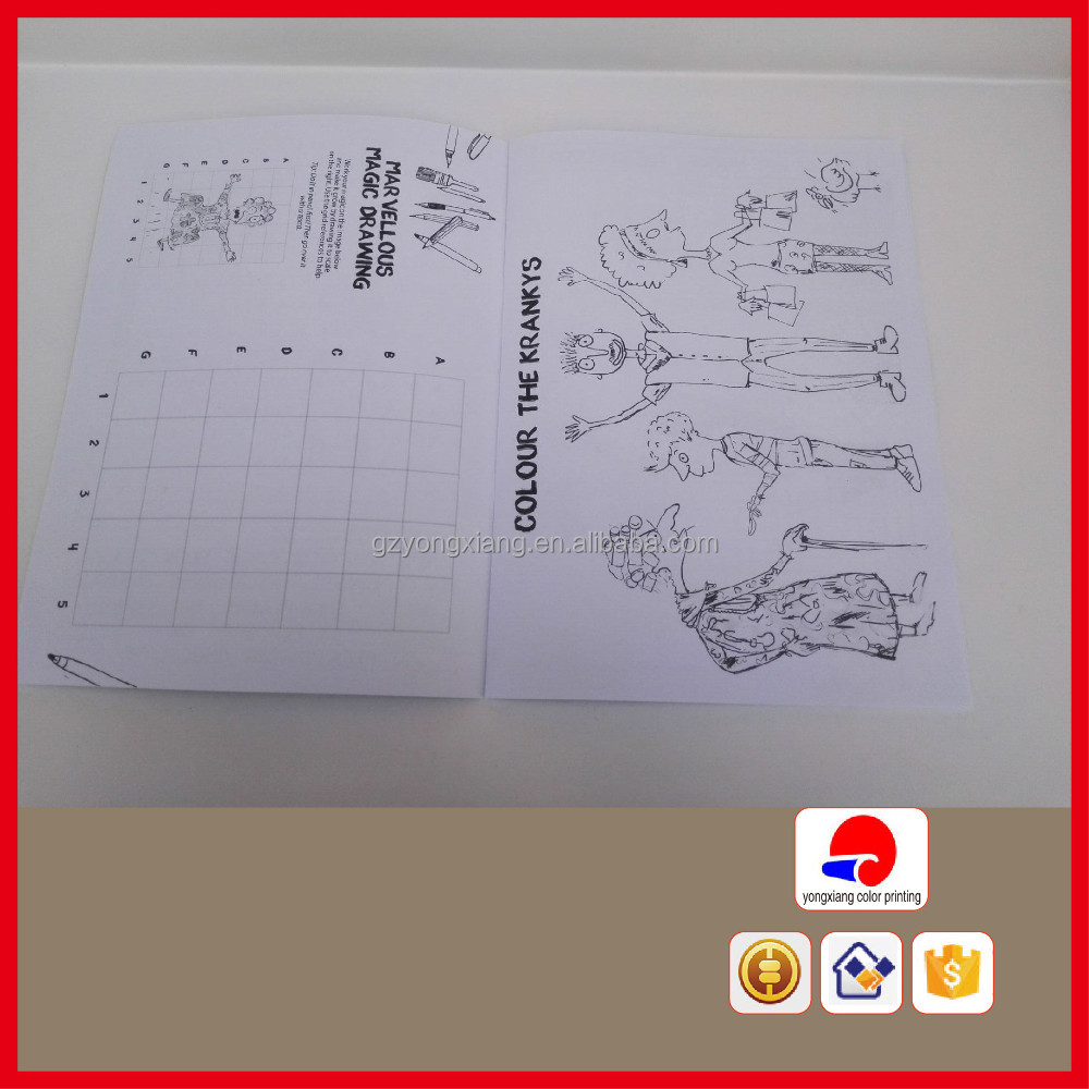 [Direct Factory+Quick Response] baby book printing activity book [High quality+ Cheap price]