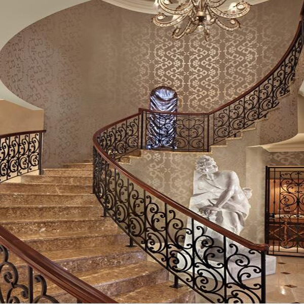 Simple Design For Iron Stairs Railing Simple Design For Iron Stairs