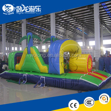 fantasy inflatable obstacle games, obstacle course equipment for sale