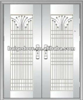 Modern Stainless Steel Main Door Design Buy Modern Stainless Steel