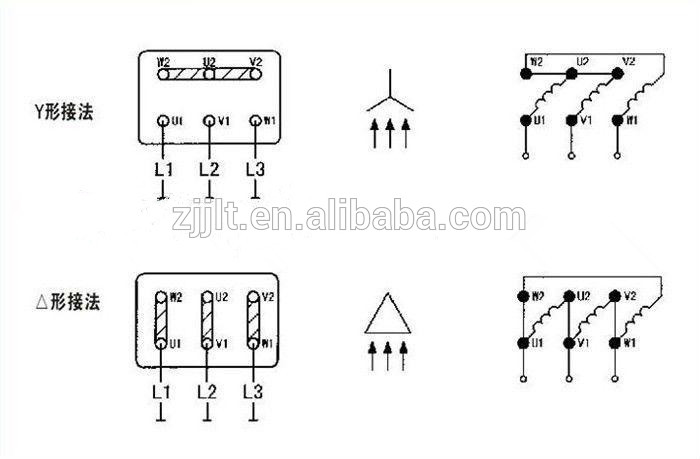 wiring diagram of three phase electric motor  sc 1 st  Alibaba : single phase asynchronous motor wiring diagram - yogabreezes.com