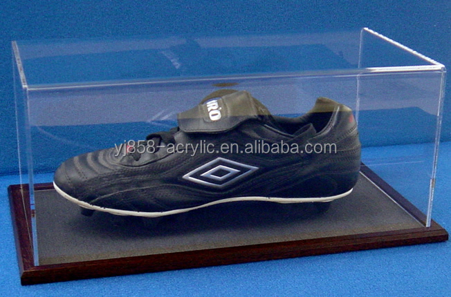 Reliable factory wholesale cheap acrylic football boot display case