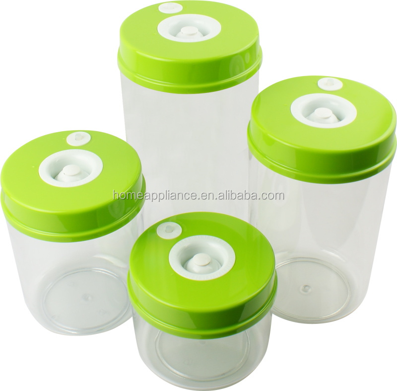 Food Powder Food Packaging Plastic Containers Air Pump Vacuum
